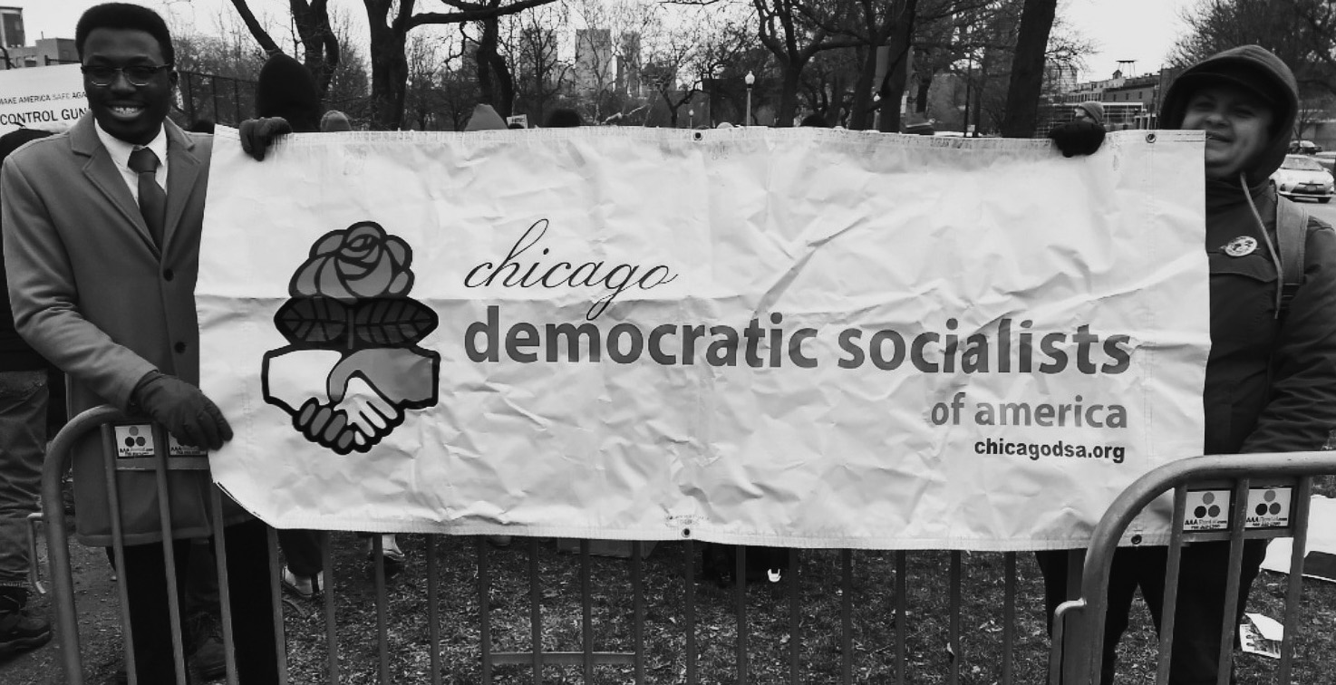Socialists March Against Gun Violence