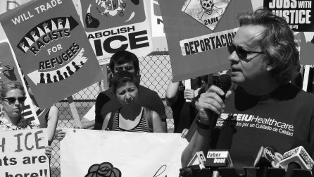 Chicago DSA Rallies Against ICE Deportations