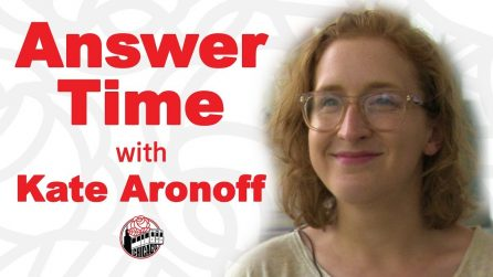 Answer Time with Kate Aronoff