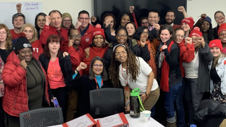 Ode to a Socialist Chicago: Ode to the Big Bargaining Team
