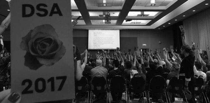 Chicago DSA's Health Care Working Group: 2017 in Review