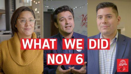 What We Did Nov 6