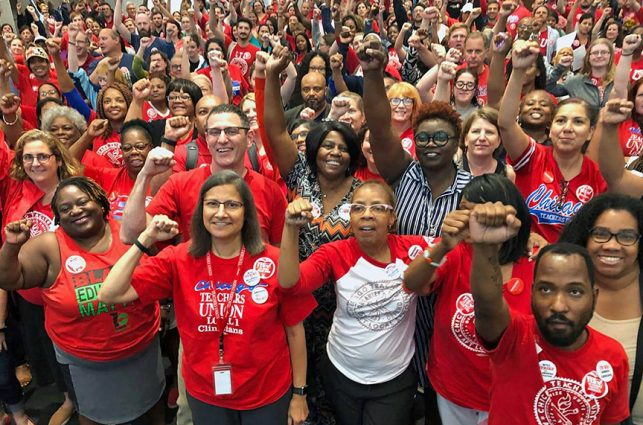 Las Vegas DSA Just Donated $3,000 to Support Striking Educators in Chicago. Here's Why.
