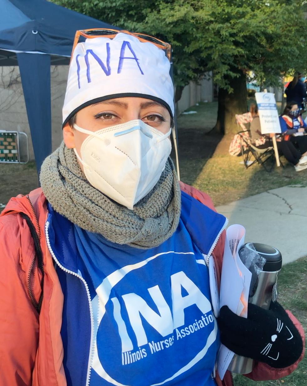 Illinois Nurses Association on Strike: An Interview with Kristen Perez