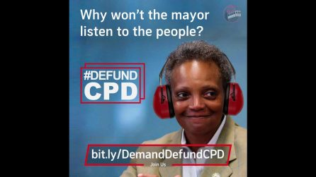 87% of Chicagoans Want to #DefundCPD