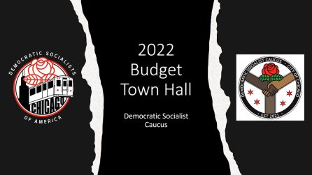 Democratic Socialist Caucus, Chicago Budget Coalition Poised For Crucial Vote